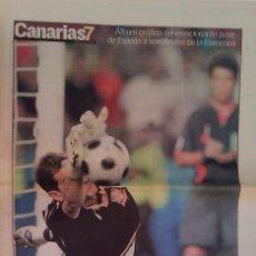 Coleccionismo deportivo: ALBUM GRAFICO PASE ESPAÑA SEMIFINALES EUROCOPA 2008 CANARIAS 7 12 PAGINAS. Lote 233856325