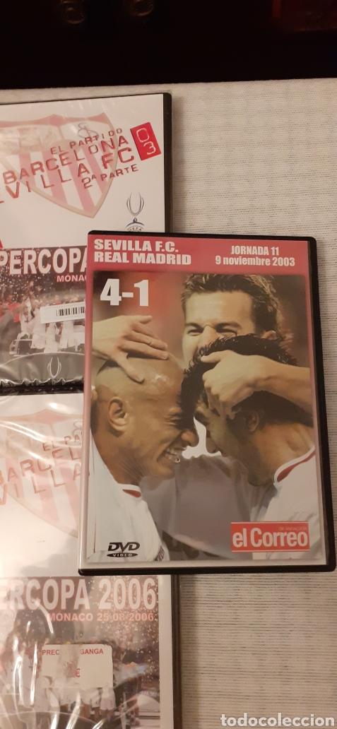 Coleccionismo deportivo: 8 DVD del Sevilla F.C , 6 de ellos precintados - Foto 2 - 235356785