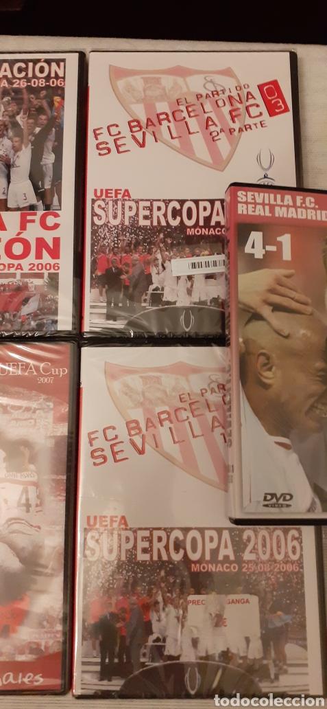 Coleccionismo deportivo: 8 DVD del Sevilla F.C , 6 de ellos precintados - Foto 3 - 235356785