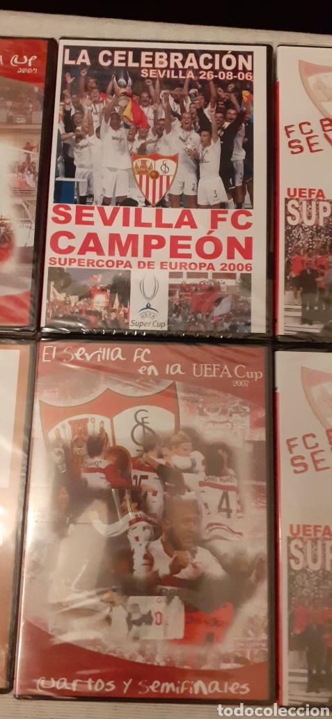 Coleccionismo deportivo: 8 DVD del Sevilla F.C , 6 de ellos precintados - Foto 4 - 235356785