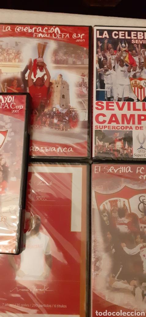 Coleccionismo deportivo: 8 DVD del Sevilla F.C , 6 de ellos precintados - Foto 5 - 235356785