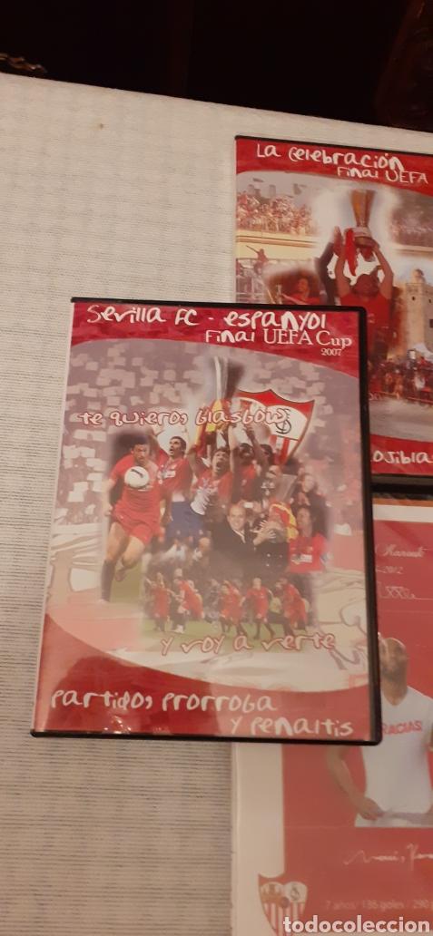 Coleccionismo deportivo: 8 DVD del Sevilla F.C , 6 de ellos precintados - Foto 6 - 235356785