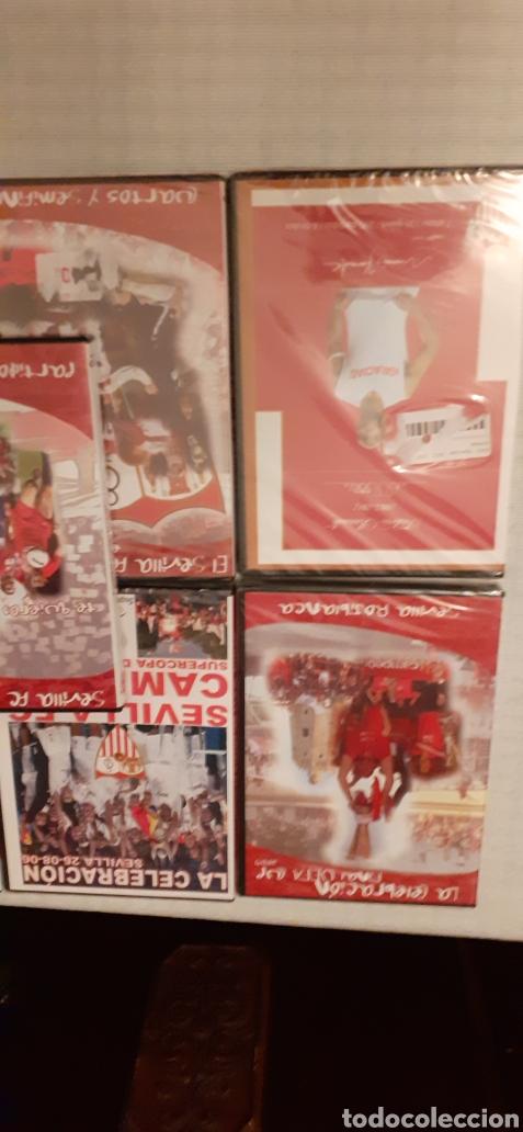 Coleccionismo deportivo: 8 DVD del Sevilla F.C , 6 de ellos precintados - Foto 7 - 235356785