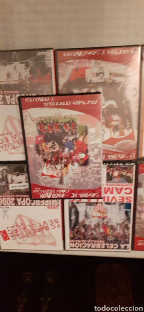 Coleccionismo deportivo: 8 DVD del Sevilla F.C , 6 de ellos precintados - Foto 8 - 235356785