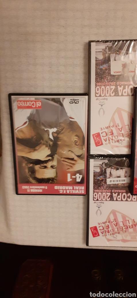 Coleccionismo deportivo: 8 DVD del Sevilla F.C , 6 de ellos precintados - Foto 9 - 235356785