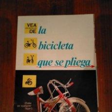 Coleccionismo deportivo: PUBLICIDAD BICICLETA BH. Lote 235359230