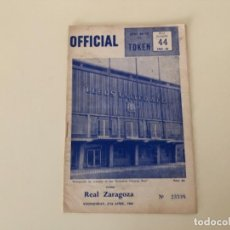 Coleccionismo deportivo: PROGRAMA EUROPA FÚTBOL ZARAGOZA LEEDS UNITED 1966 NÚMERO 44. Lote 235634065