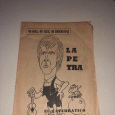 Coleccionismo deportivo: REVISTA FÚTBOL DESPLEGABLE REAL ZARAGOZA LAPETRA PERIDICO MARCA 8 PÁGINAS. Lote 235634965