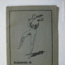 Coleccionismo deportivo: REGLAMENTO DE LAWN TENNIS-PUBLICIDAD ERNEST F.C. WITTY-VER FOTOS-(K-1688). Lote 236021515