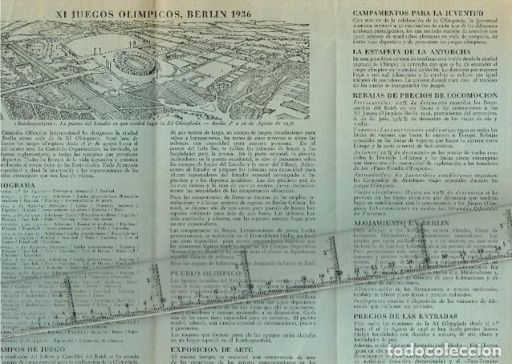 Coleccionismo deportivo: 1936 XI Juegos Olímpicos de Berlín - IV Juegos Olímpicos de Invierno 1936 Garmisch - Partenkirchen - Foto 3 - 237397335