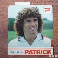 Coleccionismo deportivo: CROMO PEGATINA KEVIN KEEGAN (INGLATERRA) PATRICK - 11 X 10 CMS - ADHESIVO SIN PEGAR - AÑOS 80. Lote 240711795