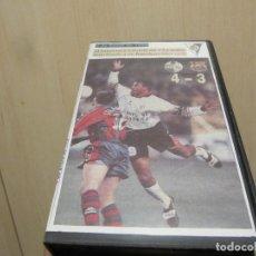 Coleccionismo deportivo: VHS U.D.SALAMANCA 4 F.C. BARCELONA 3 1998. Lote 241325050