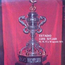 Coleccionismo deportivo: 1973 SPARTAK MOSCU CSKA SOFIA TROFEO CIUDAD DE PALMA CARPETA Y DIVERSA DOCUMENTACION. Lote 243398395