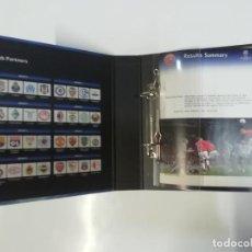Coleccionismo deportivo: UEFA CHAMPIONS LEAGUE 2007-2008 - ARCHIVADOR OFICIAL DE RESULTADOS. Lote 244017690