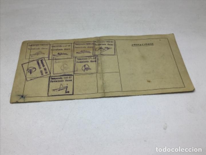 Coleccionismo deportivo: F.C. BARCELONA - ABONO NUEVO CAMPO - ABONO 5 TEMPORADAS AÑO 1957 - Foto 5 - 244407795
