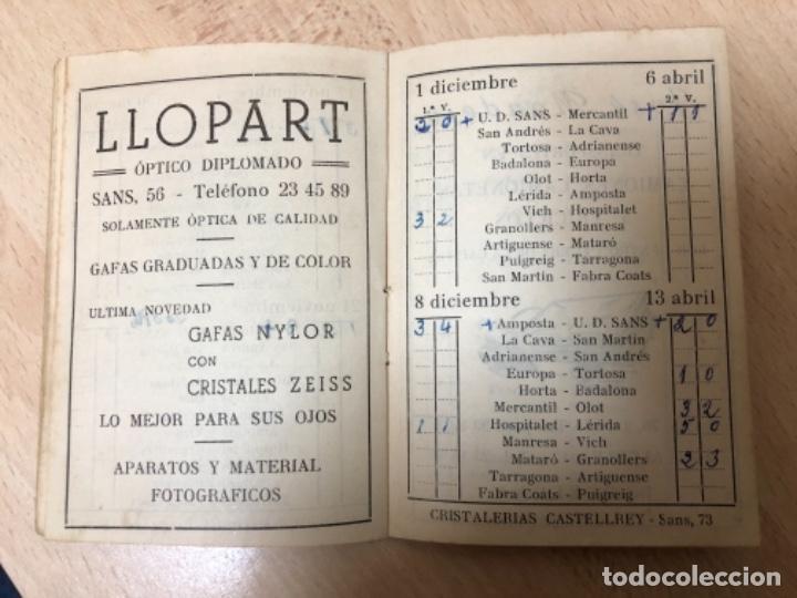 Coleccionismo deportivo: CURIOSO LIBRITO , CAMPEONATO NACIONAL DE LIGA 3ª DIVISIÓN 6º GRUPO UNIÓN DEPORTIVO SANS , 1.957 - 58 - Foto 11 - 251479495