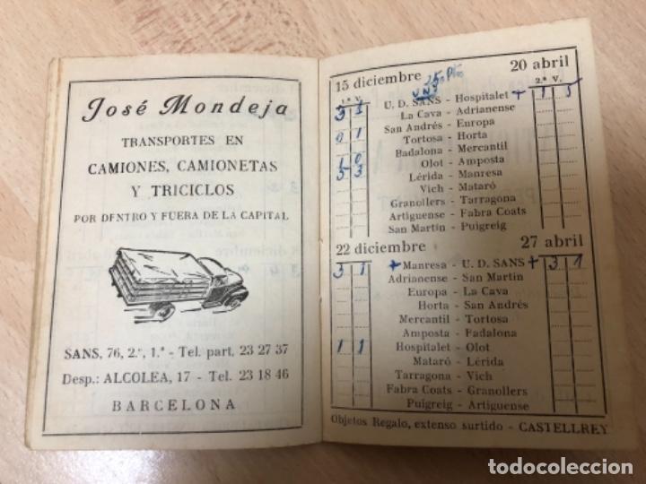 Coleccionismo deportivo: CURIOSO LIBRITO , CAMPEONATO NACIONAL DE LIGA 3ª DIVISIÓN 6º GRUPO UNIÓN DEPORTIVO SANS , 1.957 - 58 - Foto 12 - 251479495