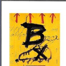Coleccionismo deportivo: MENU XXV CONGRÉS DE PENYES BARCELONISTES 2002. FC BARCELONA - FIRMA AUTÓGRAFA JOAN GASPAR. Lote 251862255