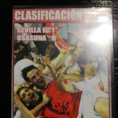 Coleccionismo deportivo: SEVILLA OSASUNA (CLASIFICACIÓN PARA LA UEFA) 23 MAYO 2004 DVD. Lote 252432095