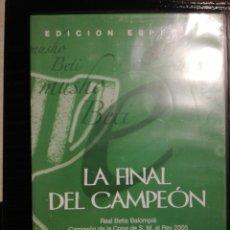 Coleccionismo deportivo: OSASUNA BETIS (FINAL COPA DEL REY 2005) DVD. Lote 252432405