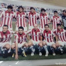 Coleccionismo deportivo: ATHLETIC CLUB DE BILBAO PLANTILLA DE FÚTBOL FOTO ANTIGUA CAMISETAS PETRONOR. Lote 252673015
