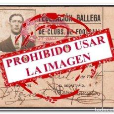 Coleccionismo deportivo: 04-04-1924. PASE DE LA FEDERACIÓN GALEGA DE FÚTBOL - CELTA DE VIGO. Lote 254463830