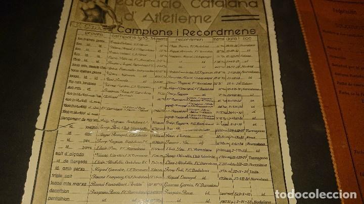 Coleccionismo deportivo: AMTIGUA SOLICUTUD DE LICENCIA DE ATLETA AMATEUR PARA LA FEDERACION REGIONAL , LEER DESCRIPCION - Foto 2 - 254463925