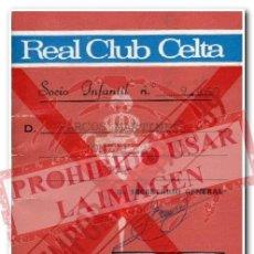 Coleccionismo deportivo: CARNET ABONO CELTA DE VIGO TEMPORADA 1988/89. Lote 254465205