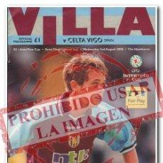 Coleccionismo deportivo: 20 BOLETÍN PROGRAMA PARTIDOS CELTA DE VIGO EN EUROPA.- UEFA, CHAMPIONS, EUROPA LEAGUE. Lote 254465515
