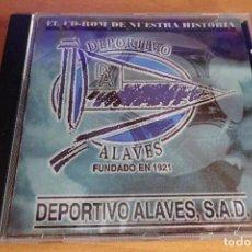 Coleccionismo deportivo: CD ROM DEPORTIVO ALAVÉS HISTORIA. Lote 255010295