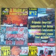 Coleccionismo deportivo: LOTE 13 REVISTAS ULTRAS FUTBOL JUGADOR NUMERO 12 SUPER HINCHA SUPERTIFO, TO MY KIBICE POLONIA GRADAS. Lote 255371605