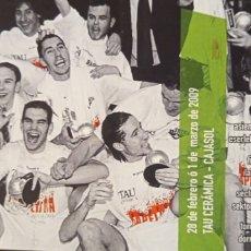 Coleccionismo deportivo: ENTRADA BASKONIA VS CAJASOL. Lote 257329500