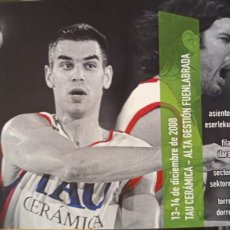 Coleccionismo deportivo: ENTRADA BASKONIA VS FUENLABRADA. Lote 257329595