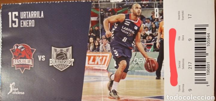 ENTRADA BASKONIA VS BILBAO BASKET (Coleccionismo Deportivo - Documentos de Deportes - Otros)