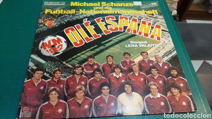 DISCO ALEMAN OLE MUNDIAL MUNDIAL FÚTBOL 1982 ARIOLA NUEVI ESTADO DISCOS COLISEVM ANTIGÜEDADES (Coleccionismo Deportivo - Documentos de Deportes - Otros)