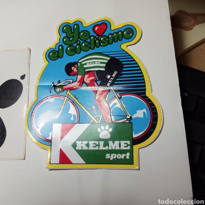 3 PEGATINAS ADHESIVAS KELME AÑOS 80/90 (Coleccionismo Deportivo - Documentos de Deportes - Otros)
