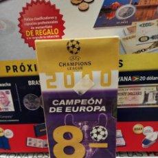 Coleccionismo deportivo: VHS..REAL MADRID..CAMPEON DE EUROPA..2000.... Lote 261585585