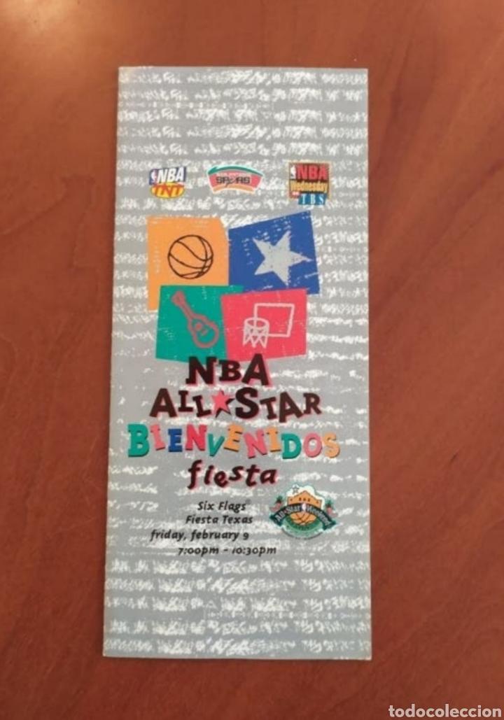 Coleccionismo deportivo: Mapa/info bienvenidos a la fiesta all star NBA de 1996 - Foto 2 - 262146960