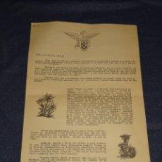 Colecionismo desportivo: (M2) GUM DE SEU - PROGRAMA DEL CURSO 1960 - 61, ESQUI, 6 PÁGINAS, SEÑALES DE USO NORMALES. Lote 262523210