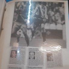 Coleccionismo deportivo: VALENCIA CF. 3 CARPESANOS DE RECORTES DE LA LIGA DEL AÑO 2008 Y 2009. Lote 263129790