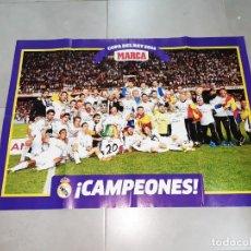 Coleccionismo deportivo: PÓSTER. REAL MADRID, COPA DEL REY 2014, MARCA. Lote 265660179