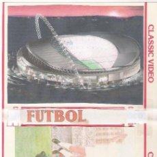 Collezionismo sportivo: DVD FÚTBOL-LIGA 1ªDIV. TEMP. 1970/71(SAN MAMÉS)-ATH.BILBAO-VALENCIA.. Lote 267386274