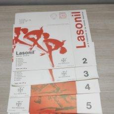 Coleccionismo deportivo: 5 LÁMINAS LESIONES DEPORTIVAS Y SU TRATAMIENTO. NOTAS DE MEDICINA DEPORTIVA. LASONIL. 2,3,4,5,6. Lote 267664274
