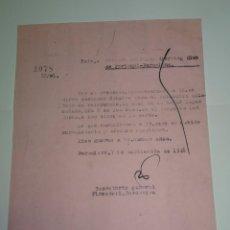 Coleccionismo deportivo: CARTA ORIGINAL PARTIDO AMISTOSO SPORTING DE PORTUGAL - FC BARCELONA 7 SEPTIEMBRE 1948. Lote 268603039
