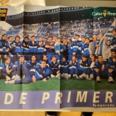 Coleccionismo deportivo: ESPAÑOL POSTER MUNDO DEPORTIVO DE PRIMERA TEMPORADA 93 94. Lote 268882474
