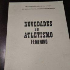 Coleccionismo deportivo: NOVEDADES EN ATLETISMO FEMENINO 1970. Lote 268906564