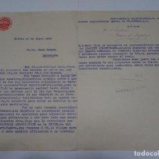 Coleccionismo deportivo: CLUB DEPORTIVO BILBAO 1913 ENVIADA A HANS GAMPER DE JUAN DE ARZUAGA PRESIDENTE CARDIFF CORINTHIANS. Lote 269417208