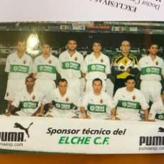 Coleccionismo deportivo: ELCHE CLUB DE FUTBOL PROPAGANDA PUMA. Lote 271090793