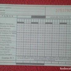 Coleccionismo deportivo: ESPAÑA BOLETO QUINIELA DE FÚTBOL FECHA 28 3 1976 MARZO 76 SIN USO BUEN ESTADO, TRÍPTICO COPIA VER.... Lote 271843948