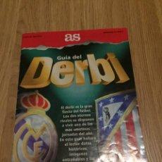 Coleccionismo deportivo: FOLLETO GUIA DEL DERBI 1994 1995 REAL MADRID ATLETICO DE MADRID. Lote 274524968